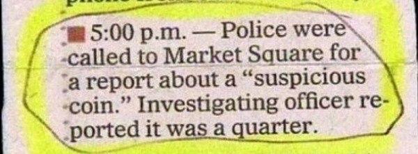 Suspicious Coin
