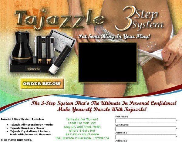 Tajazzle Infomercial