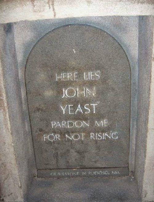 Yeast Grave