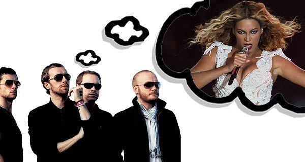 Beyonce Coldplay