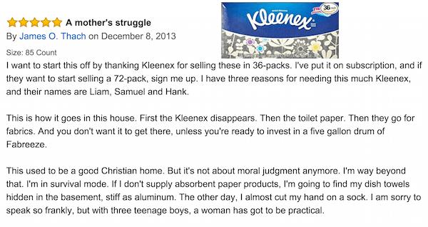 Kleenex Struggle