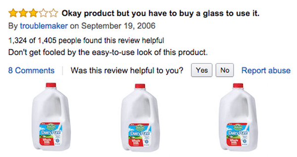 Milk Review