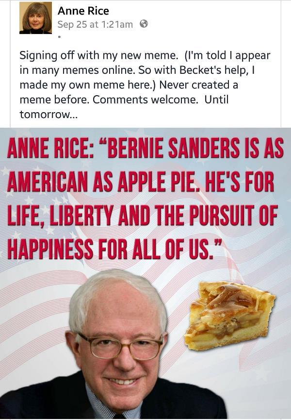 Anne Rice Gets Memes