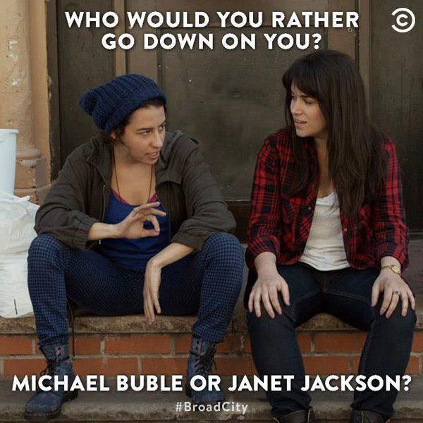 Buble Or Jackson
