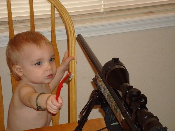 Children In Danger Baby Cleaning Gun
