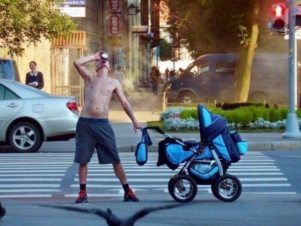 Children In Danger Baby In Crosswalk