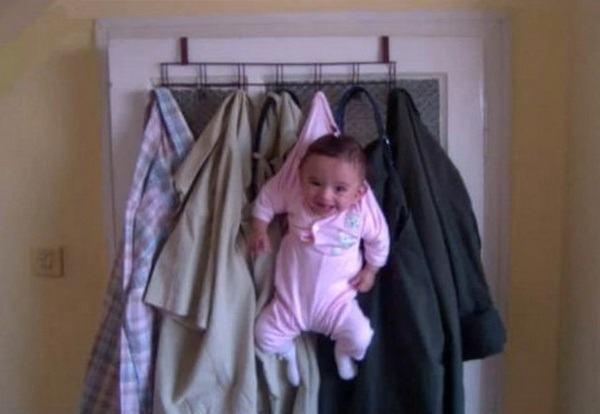 Children In Danger Coat Hanger