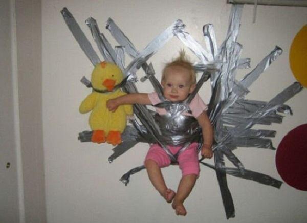 Crianças em perigo ducktape