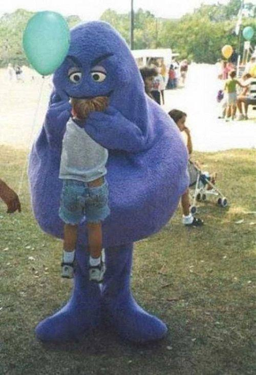 Children In Danger Grimace