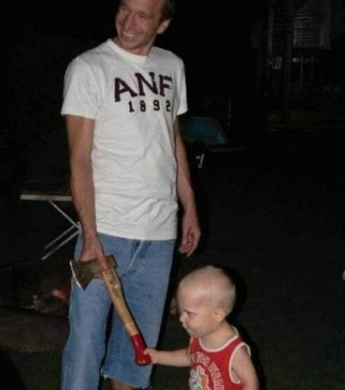Crianças em perigo Hatchet