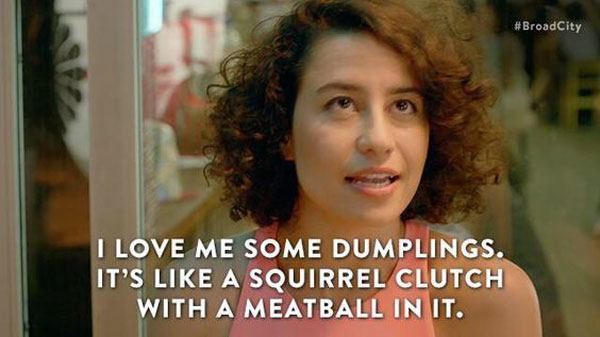 Dumplings Broad City