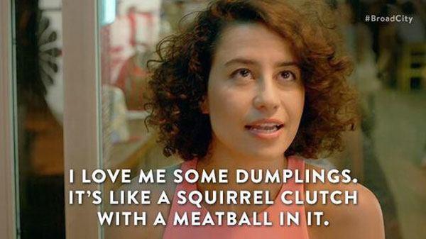 Dumplings Broad City