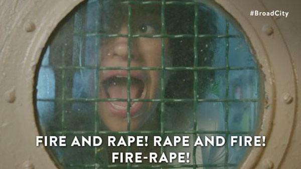 Fire Rape