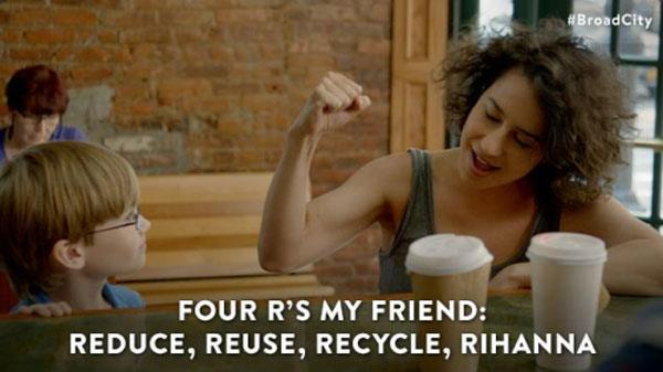 Four Rs Broad City