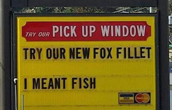 Fox Fillet Fast Food