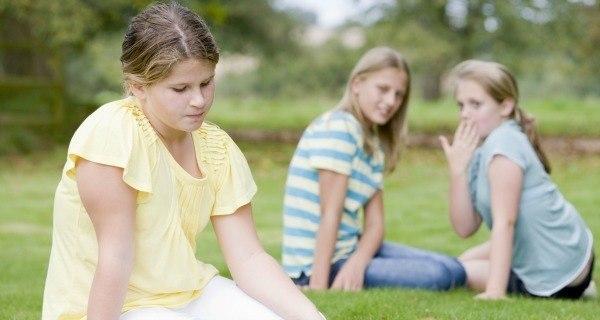 Girl And Bullies