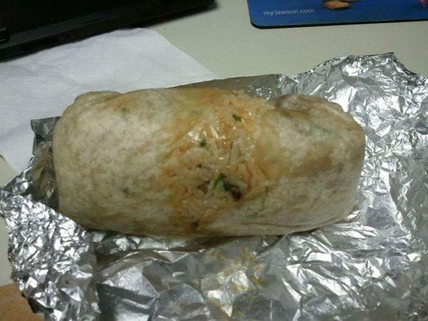 Invisible Burrito