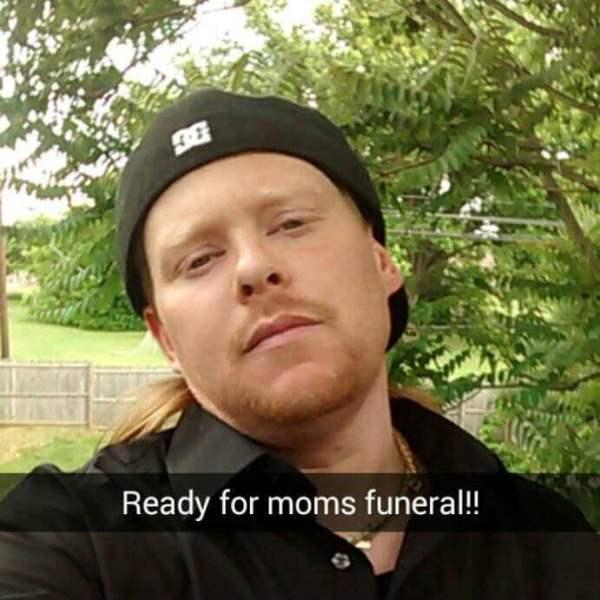 Moms Funeral
