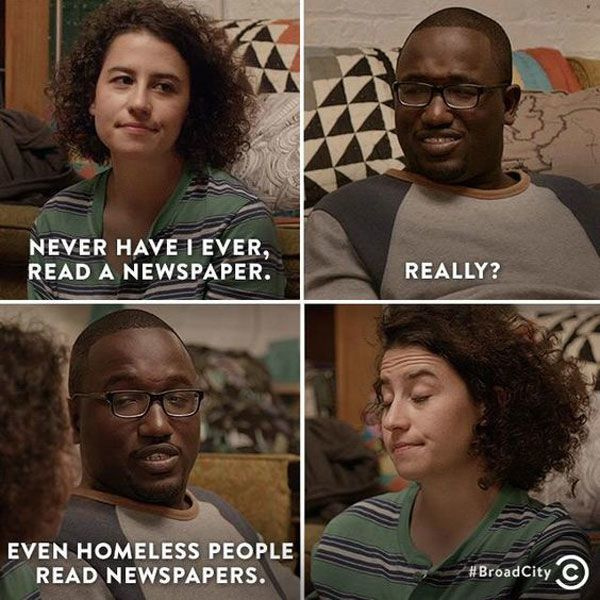 Newspapers Broad City