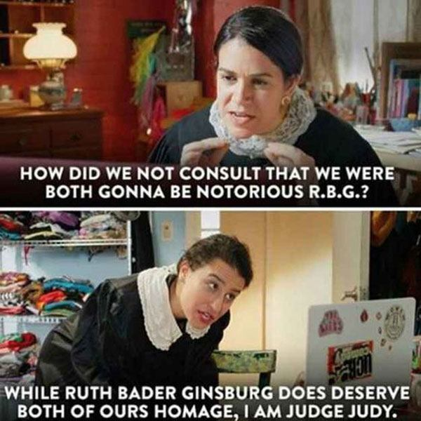 Notorious Rbg Abby And Illana
