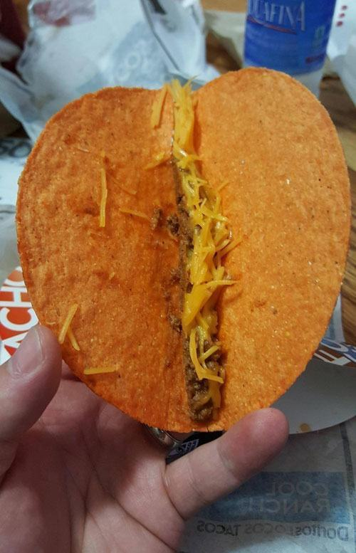 Sad Taco Fast Food Fails