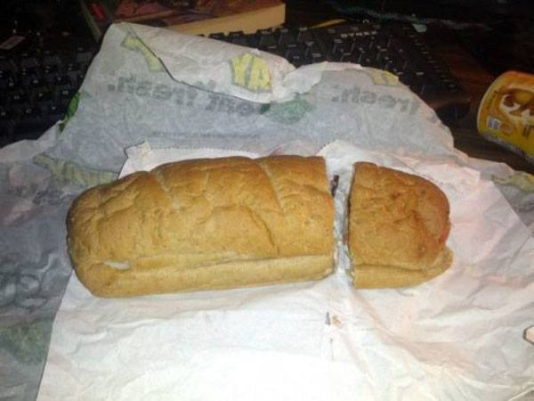 Fast Food Fails Subway In Half