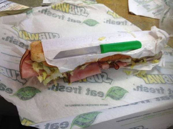 Subway Knife