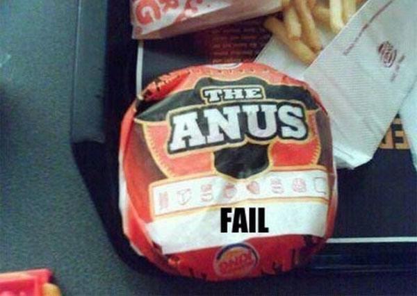 The Anus Fast Food