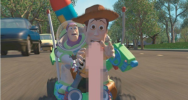 Toy Story Woody Censored