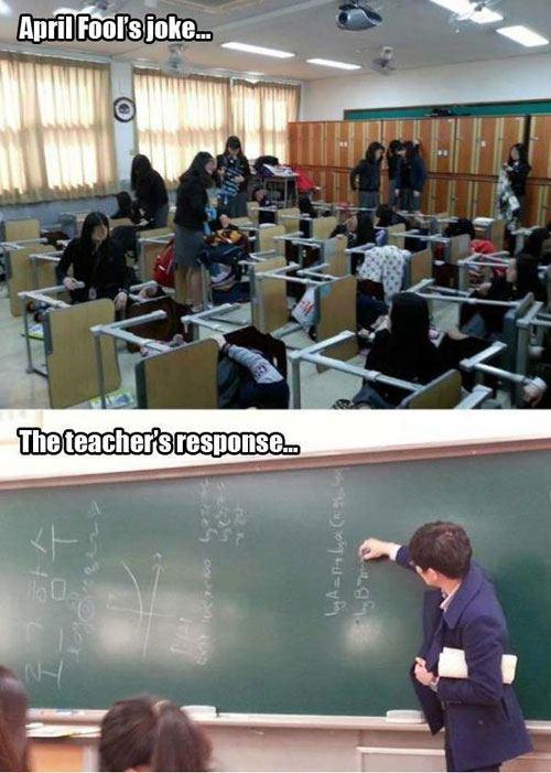 April Fools Teacher