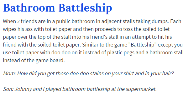 Bathroom Battleship