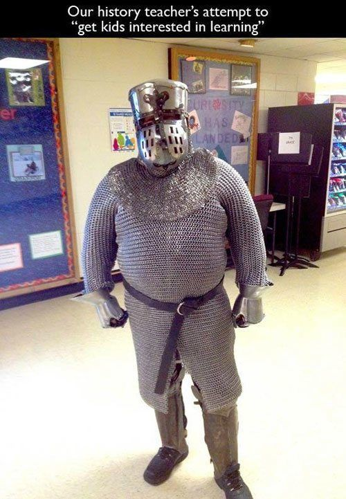 Chainmail Teacher