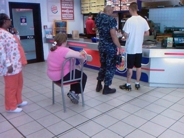 Chair In Line