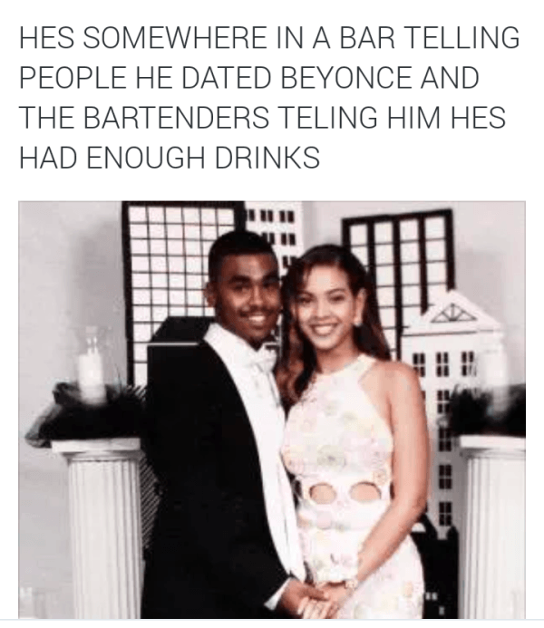 Dated Beyonce