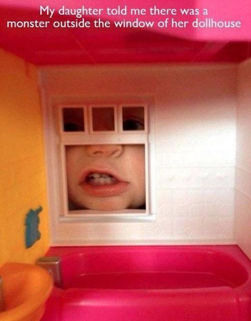 Dollhouse Monster