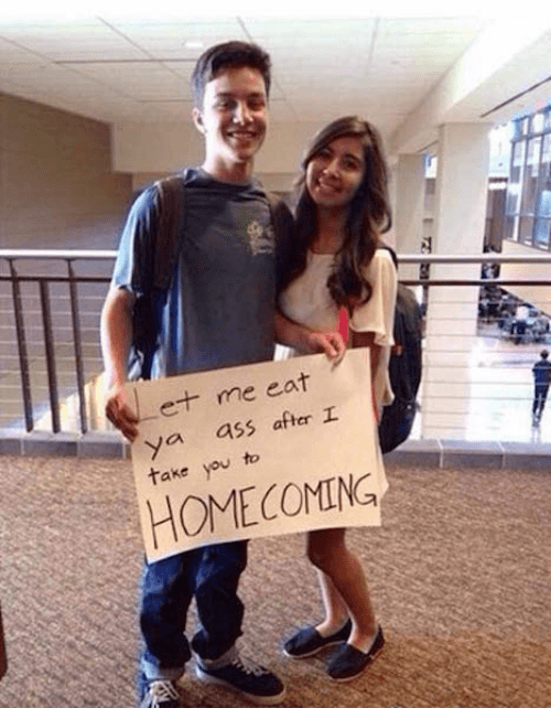 Eating Ass Promposal Fails