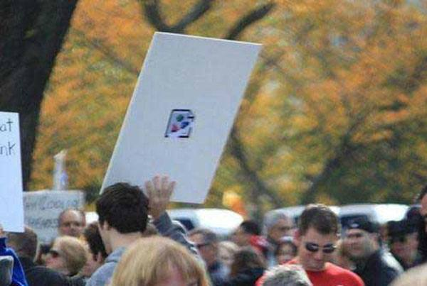 File Not Found Protest