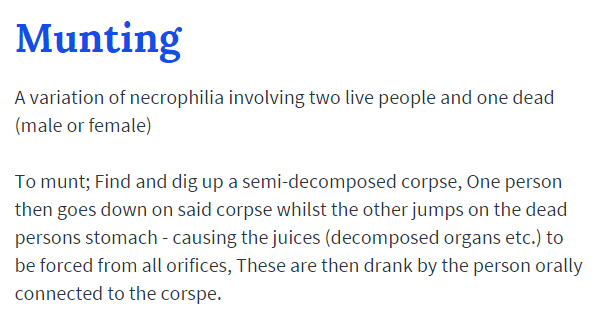 The 37 Most Disgusting Urban Dictionary Definitions Ever