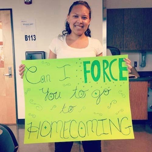 Forced Promposal Fails