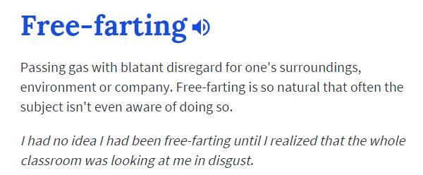 Free Farting