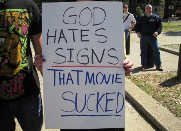 God Hates Signs