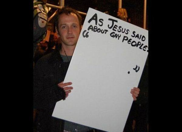 Jesus Gay People
