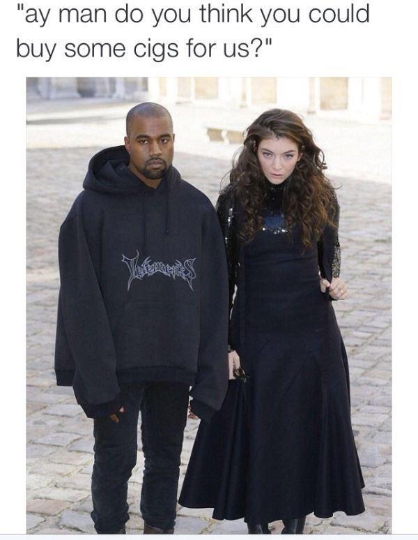 Kanye And Lorde