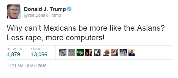Mexicans Versus Asians