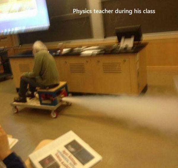 Physics Scooter