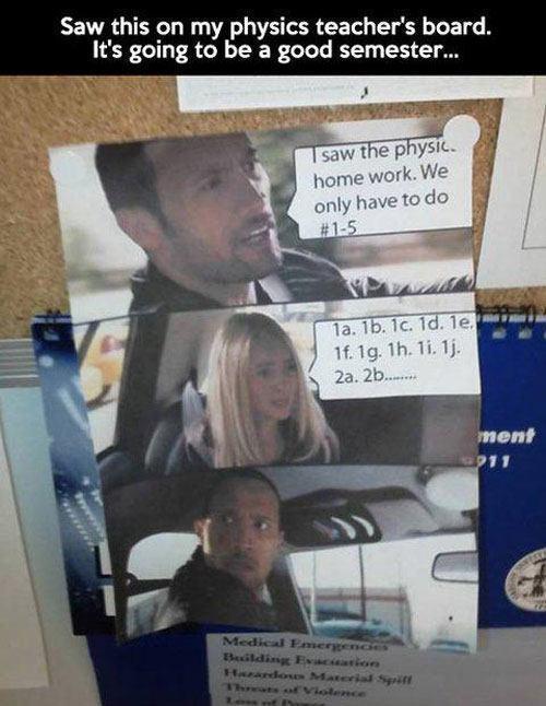 Physics Teacher Meme