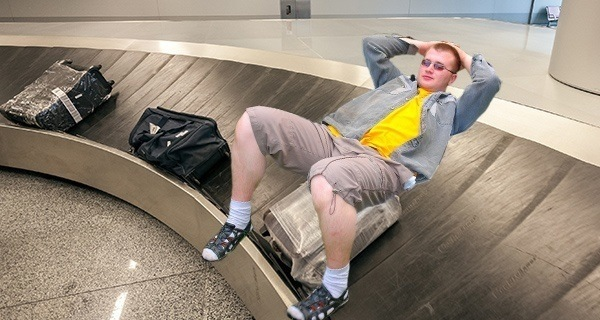 Rode The Baggage Claim Carousel
