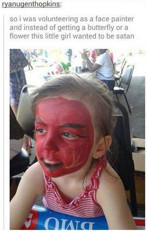 Satan Kid Weird