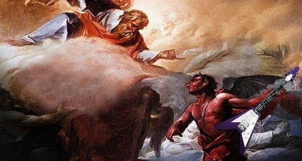 Satan Leaving Heaven For Real