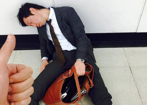 Sleeping Thumbs Up